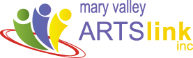 Mary Valley Artslink Mobile Logo